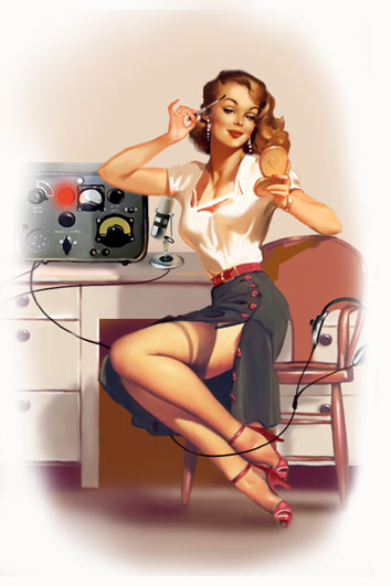 Телефонистка~Pin-Up Girls