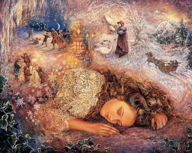 Зимний сон.Романтический мир
