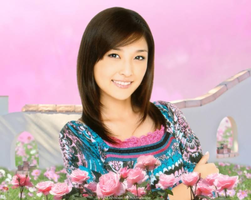 Японская девушка.Романтические девушки