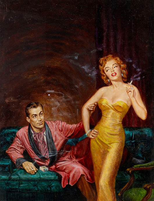 Romantic love. American ART..Любовь и романтика