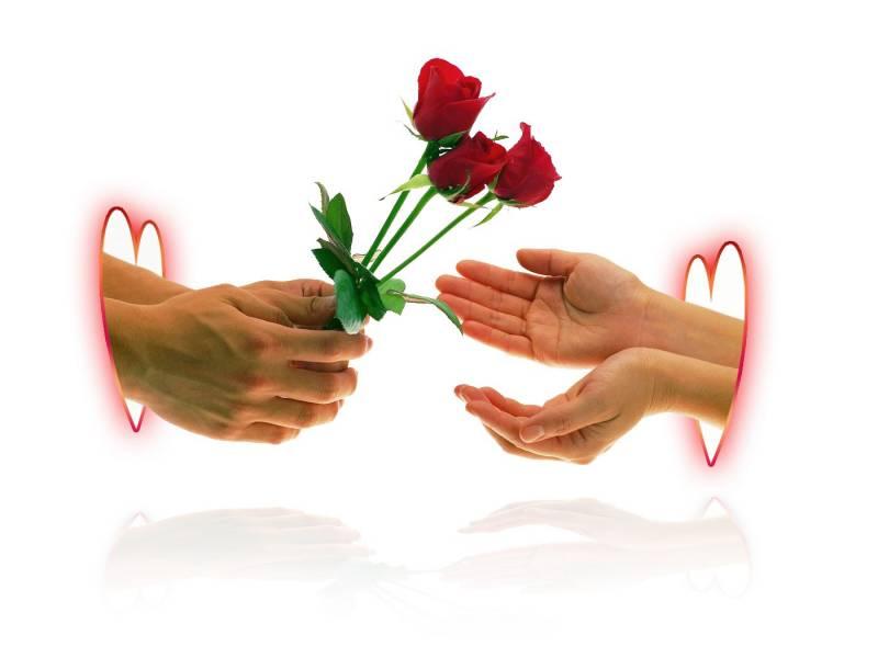 От сердца к сердцу.Романтические фоны